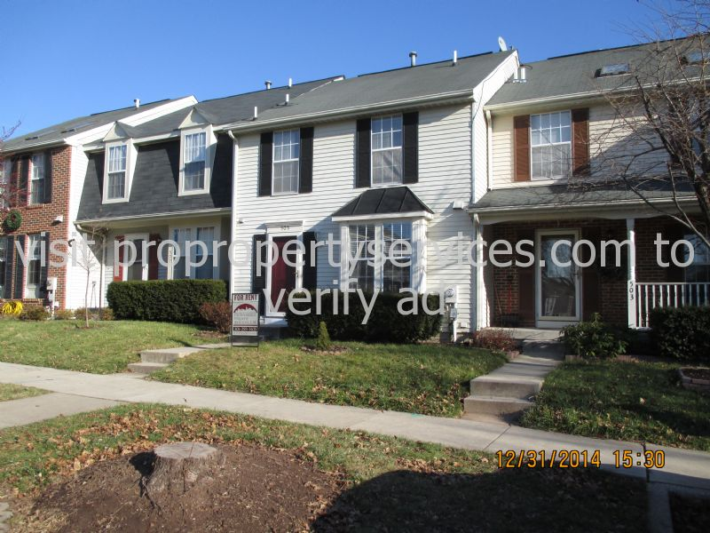 Townhouse for Rent in Overlook