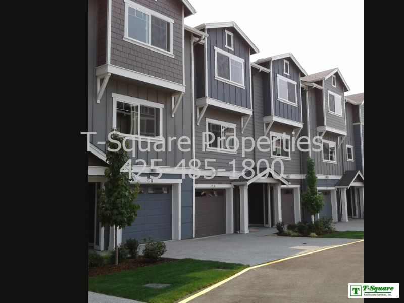 Townhouse for Rent in Bothell
