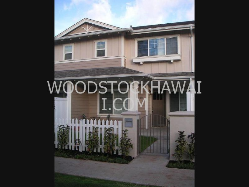 Townhouse for Rent in Ewa Beach